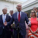 Biden talks about Trillion dollar infrastructure bill